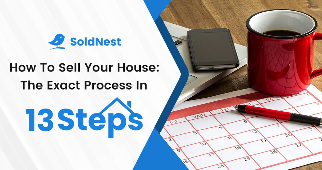 How to sell your house: The exact step-by-step process